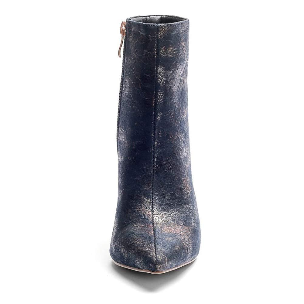 L@YC 33-43) Frauen Stiefel Western Winter Knie Abend Chunky (Größe 33-43) L@YC Plattform High Heels Reißverschluss f3c46c