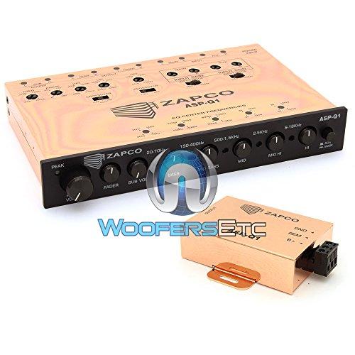 ASP-Q1 - Zapco 6-Channel Analog Signal Processor