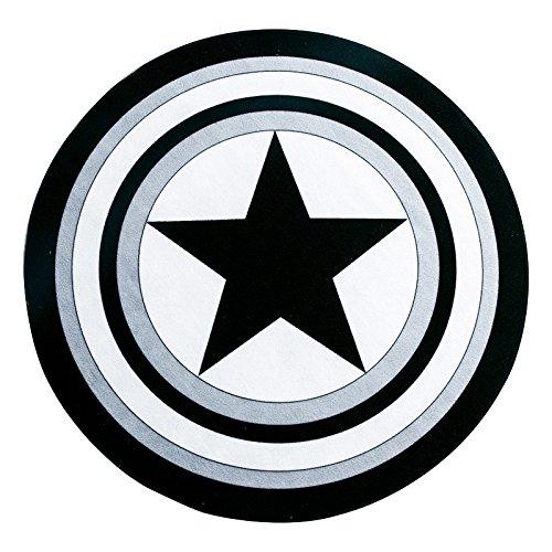 Amazon Com Xjbhd Round Rug Captain America Shield Carpet