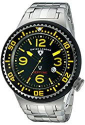 Swiss Legend Men's 21819P-11-YA Neptune Force Analog Display Swiss Quartz Silver Watch