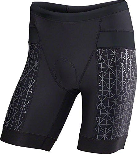 Tyr Tri Shorts - TYR Competitor 9in Tri Short - Men's Black/Black, M