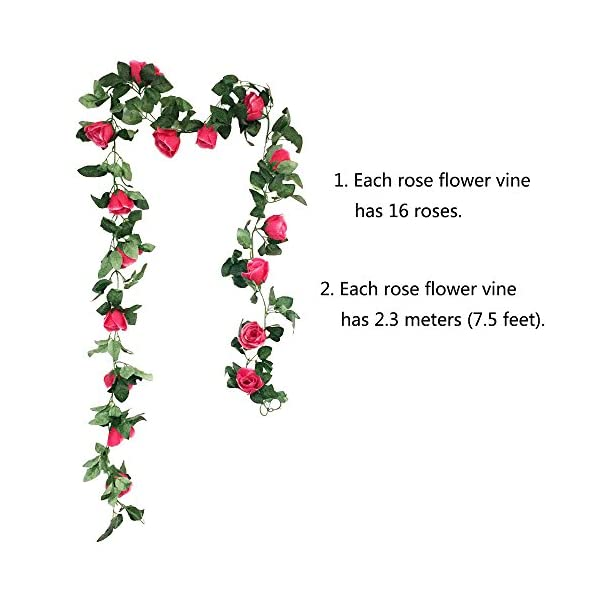 CEWOR-Artificial-Rose-Vine-Fake-Flower-Garland-for-Wedding-Home-Garden-Party-Decoration