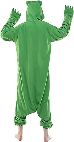 Kenmont Unicornio Juguetes y Juegos Traje Disfraz Animal Ropa de Dormir Cosplay Disfraces Pijamas para Adulto Niños (S: 148-160CM, Rainbow)