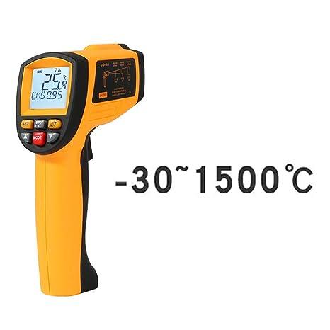 HUIGE - Termómetro infrarrojo sin Contacto, Pistola de Temperatura ...