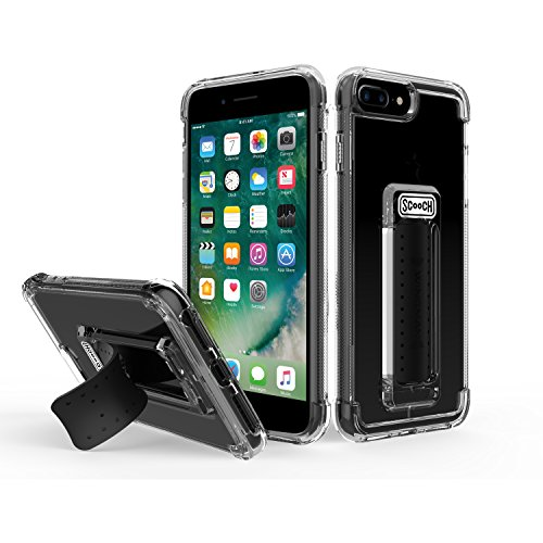 [해외]Scooch Wingman 아이폰 8 플러스 폰 케이스 (7 플러스 6s 플러스 6 플러스에 맞음) / Scooch Wingman Case for iPhone 8 Plus (Also fits 7 Plus, 6s Plus, and 6 Plus) (Clear)