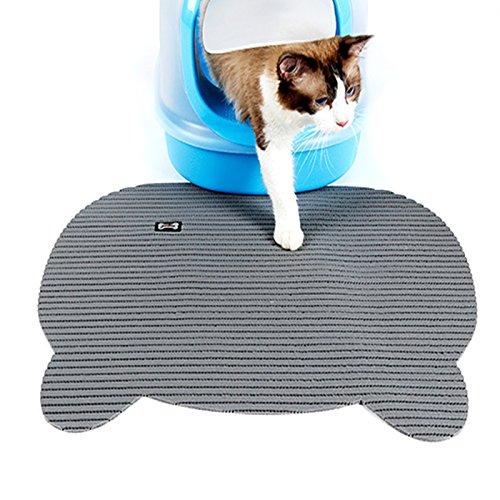 Alfie Pet by Petoga Couture - Nuru Cat Litter Mat - Color: Grey
