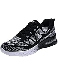 Men's Road Running Sneakers Fashion Sport Air Fitness Workout Gym Jogging Walking Shoes US6.5-12