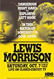11 x 17 Lennox Lewis Vs. Tommy Morrison Movie Poster