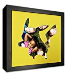 ToyFactory Pikachu Picture Mat in Frame - Made to Display Your 4x4 Photos