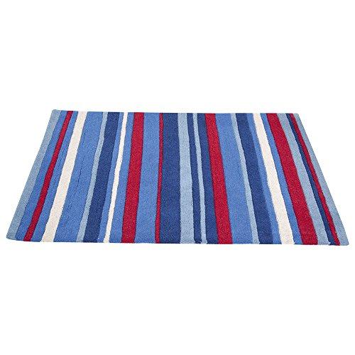 JoJo-Maman-Bebe-Rug-Blue-Stripe-X-Large