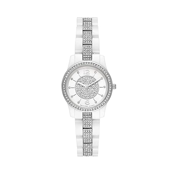DamaExtensible Reloj BlancoCaratula Mk6621 Ceramica Michael Kors WQedCoBrx