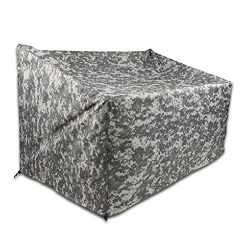 TRUESTAR Patio Sofa Cover, Durable and Waterproof Outdoor Veranda Furniture Cover, Patio Loveseat Covers W/Non Woven and Oxford Fabric Material, Eco-Friendly,Fade Resistant by TRUESTAR