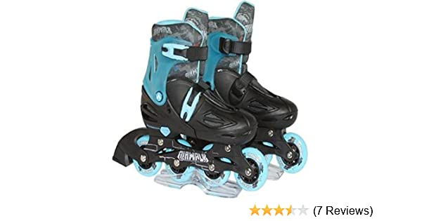 Amazon.com   Airwalk Triton Kids Adjustable Inline Skate 670ffda184