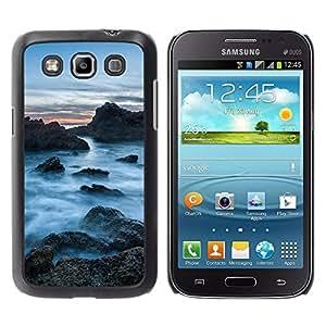 LECELL--Funda protectora / Cubierta / Piel For Samsung Galaxy Win I8550 -- Rocas Nubladas --