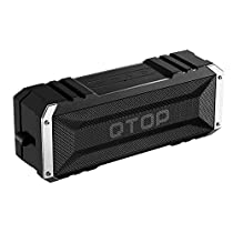 Qtop Bluetoothスピーカー Bluetooth 4.0 20W出力 iPhone, ...