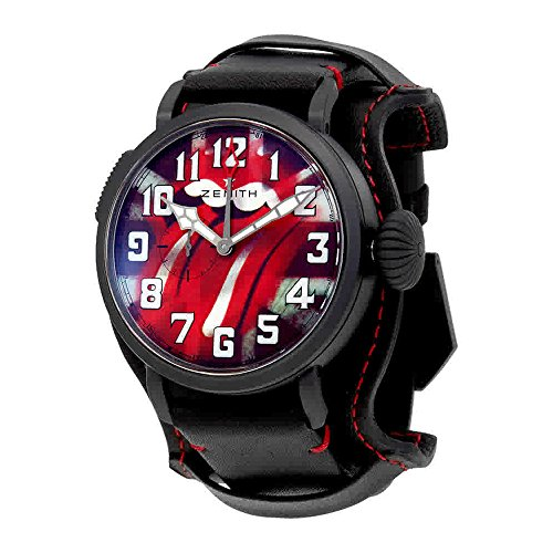 Zenith Type 20 GMT Automatic Tribute to the Rolling Stones Mens Watch 96.2439.693/77.C809
