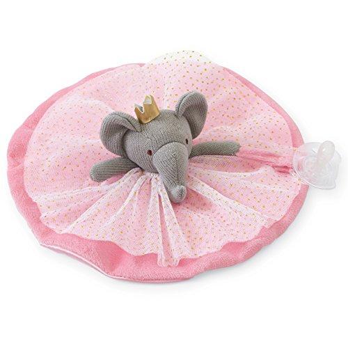 Mud Pie Princess Skirted Pacy Lovie, Elephant