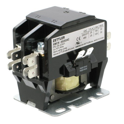Single 480vac Contactor Pole Coil (Contactor/Relay 25 Amp 2PST Normally Open 24 VAC)