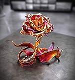 "Copper Metal Rose""Thank You"" #1837e Home Decor"