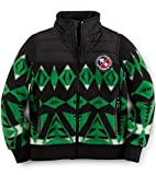 Ralph Lauren Polo Boys Ski Diamond Fleece Full Zip Jacket (7)
