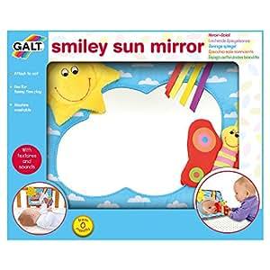 Galt juguetes smiley sun espejo beb - Espejo coche bebe amazon ...