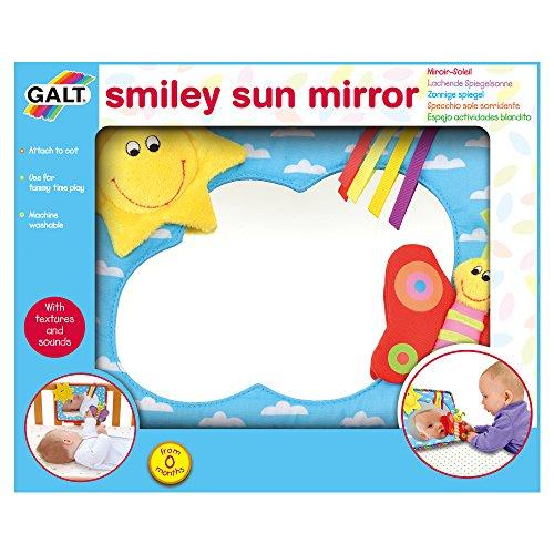 Galt Toys First Years - Smiley Sun Mirror by Galt America