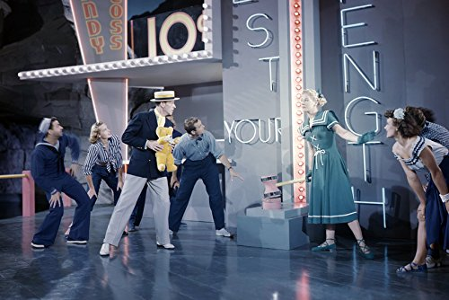 Fred Astaire Musical Dance Number Rare Color Image 24x18 Poster