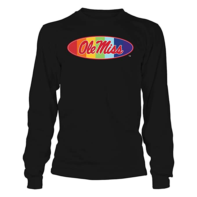 Amazon Com Ole Miss Rebels Pride Month Logo T Shirt Officially