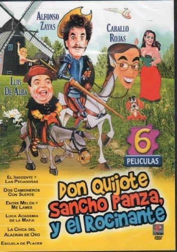 jote Sancho Panza,y El Rocinante