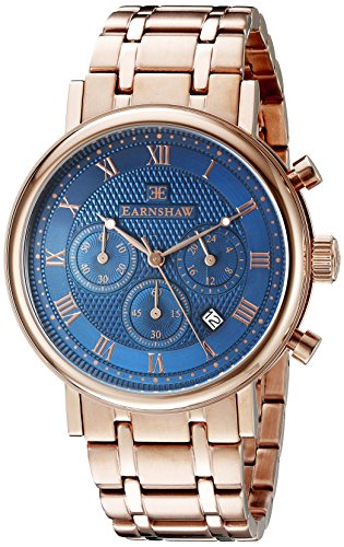 Thomas Earnshaw Men's ES-8051-33 Beaufort Analog Display Japanese Quartz Rose Gold Watch