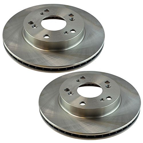 Disc Brake Rotor Driver & Passenger Side Front Pair for Honda Civic Acura ILX