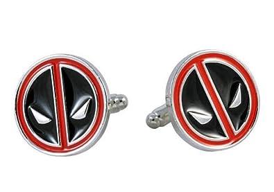 Amazon.com: Marvel Comics Deadpool Logo metal/Esmalte ...