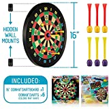 Doinkit Darts Kid-Safe Indoor Magnetic Dart Board