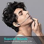Autkors-Auricolari-Ear-Cuffie-Auricolari-Stereo-in-Metallo-con-Microfono-Alta-Definizione-Bassi-Potenti-Isolamento-del-Rumore-Suono-Puro