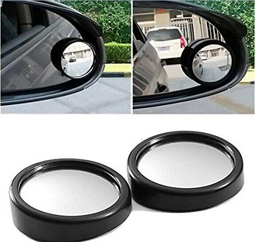 Teanfa 2 PCS Blind Spot Rear View Rearview Mirror for Car Truck
