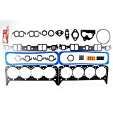 #4: ECCPP Head Gasket Set Engine Head Gaskets fit 1987-1995 Chevrolet GMC Buick Oldsmobile Fleetwood 5.7L Automotive Replacement
