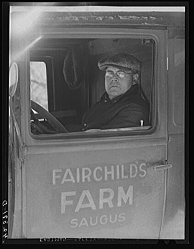 Purchase low price Historic Photos 1941 Photo . Fairchild, vegetable farmer near Saugus, Massachusetts. also works steelworks Boston
