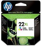 HP C9352CE - Cartucho de tinta HP 22XL de alta capacidad (cian, magenta, amarillo)