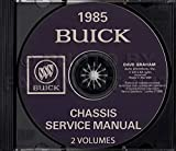 STEP-BY-STEP 1985 BUICK FACTORY REPAIR SHOP & SERVICE MANUAL & BODY MANUAL CD Includes - LeSabre, Custom, Estate Wagon, Limited, Electra, Century, Skylark, Skyhawk, and Somerset Regal