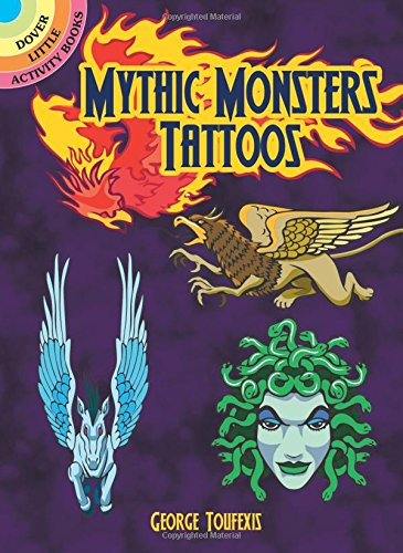 Mythic Monsters Tattoos (Dover -