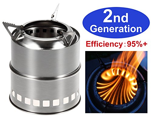 Zhongmei Portable Wood Burning Camping Stove