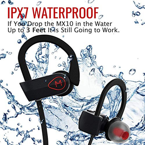 ONE Day Sale! The MX10 Bluetooth iPhone Headphones Ear Buds Wireless Headpho