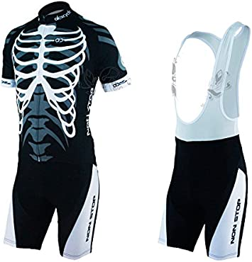 Jersey And Bib Short Quality Breathable Bicycle Cycling Short Sleeve Clothing Set