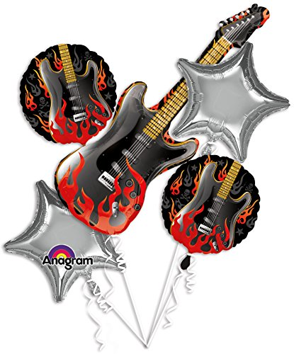 Rockstar Rock On Bouquet Of Balloons for $<!--$23.99-->