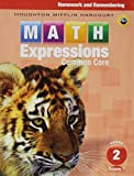 Math Expressions: Homework & Remembering, Volume 1 Grade 2