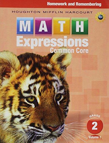Math Expressions: Homework & Remembering, Volume 1 Grade 2 (Math Expressions Homework And Remembering Grade 1)