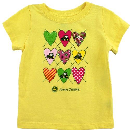 John Deere Infant Yellow T-Shirt SIS123Y ()
