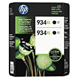 HP 934 XL High-Yield Ink, Black - 3 PACK