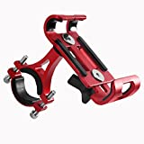 CiCiCat Bike Phone Holder,Universal Bike & Motocycle SmartPhone Mount, Anti-Slip Design Easy Installation for Huawei P20, iphone x/8/8 plus. (Red, Bike Phone Holder)