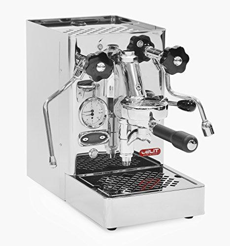 LELIT Mara PL62T Professional Machine with E61 Group, The Ideal Solution for Espresso, Cappuccino - Stainless Steel Appliance Body - PID Boiler Controller for Coffee, 1400 W, 2.5 liters